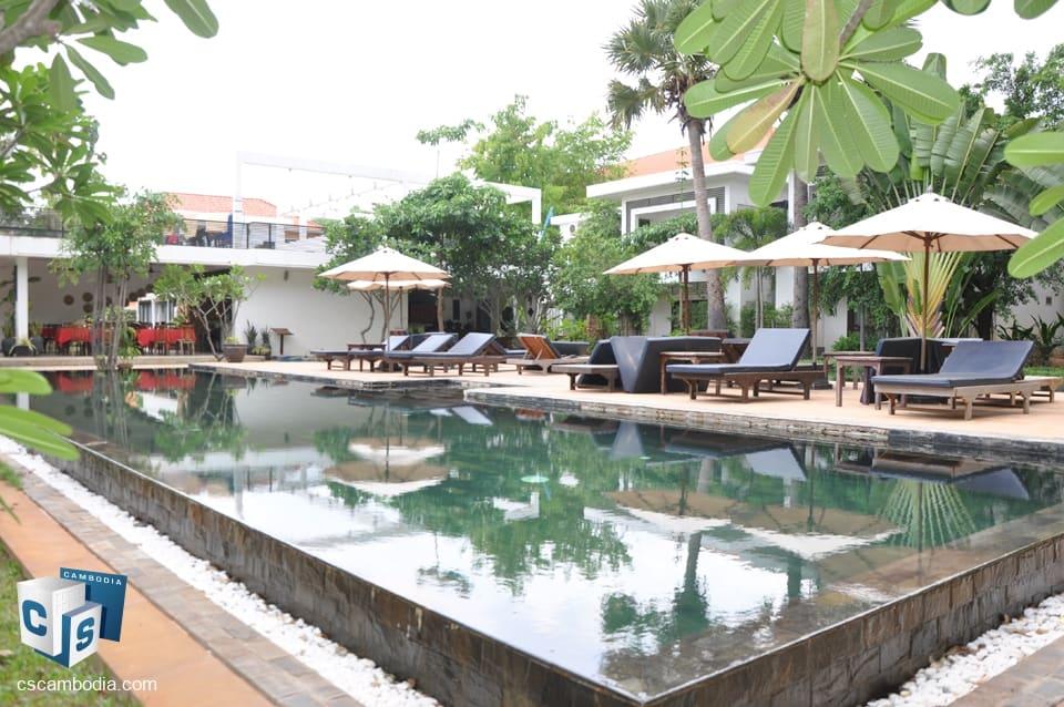 Beautiful Tropical Boutique Resort – for Rent – Siem Reap