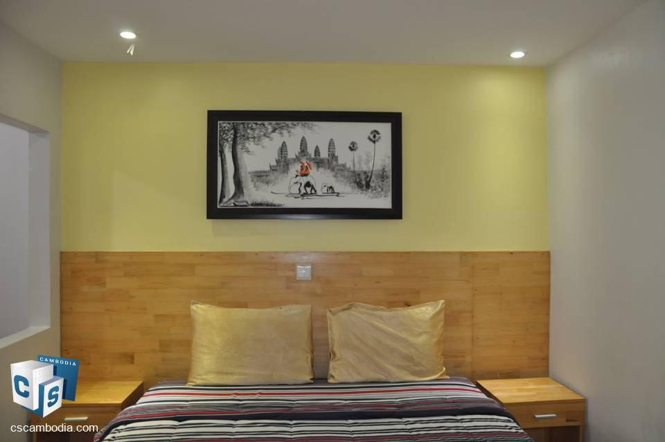 1 Bedroom Apartment With Gym & Pool – For Rent – Svay Dangkum District – Siem Reap