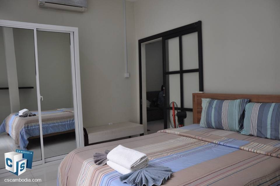 Modern 1 Bedroom Apartment With Gym & Pool – For Rent – Svay Dangkum District – Siem Reap