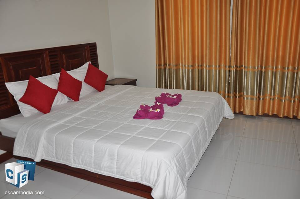1 Bedroom Apartment With Gym & Pool – For Rent – Siem Reap