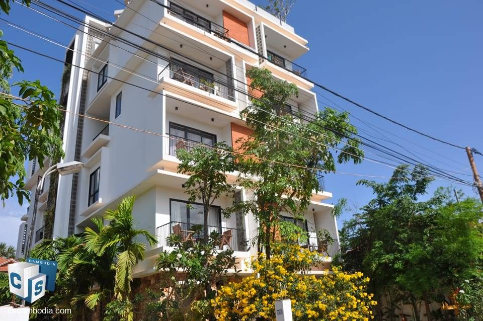 Beautifully furnished 1 Bedroom Apartment – For Rent – Svay Dangkum commune – Siem Reap