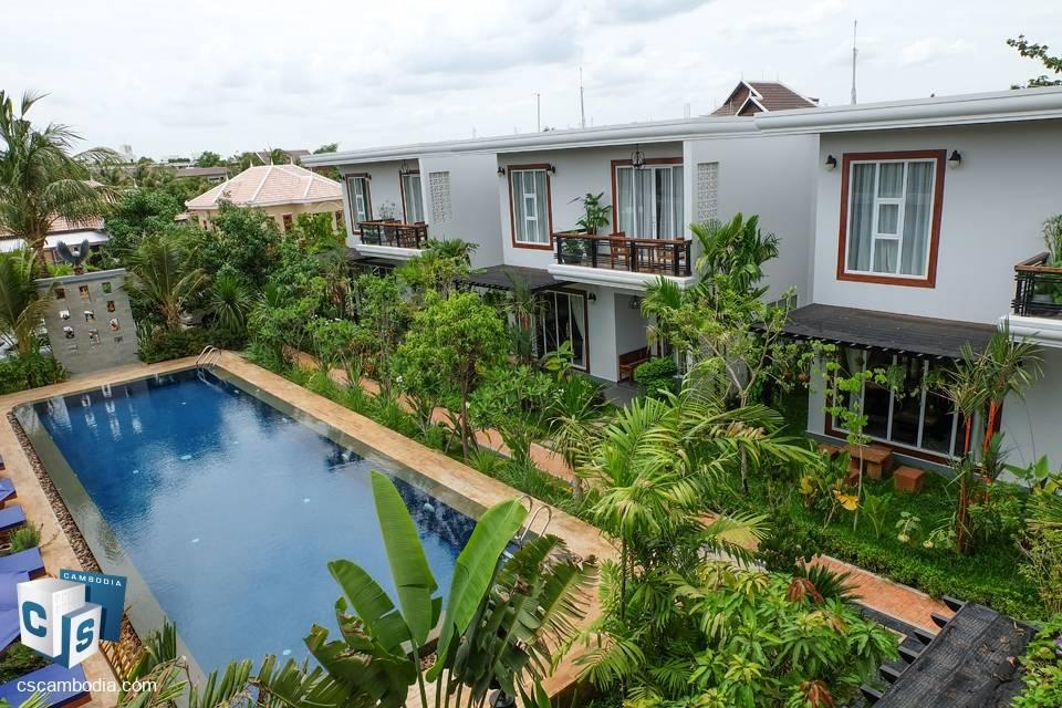 10 unit Apartment Building – For Sale – Trapeang Traeng
