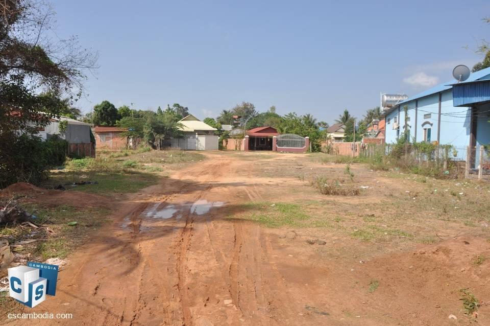 1251 Sq m Land – For Sale – Phnea Chey Village – Svay Dangkum Commune – Siem Reap