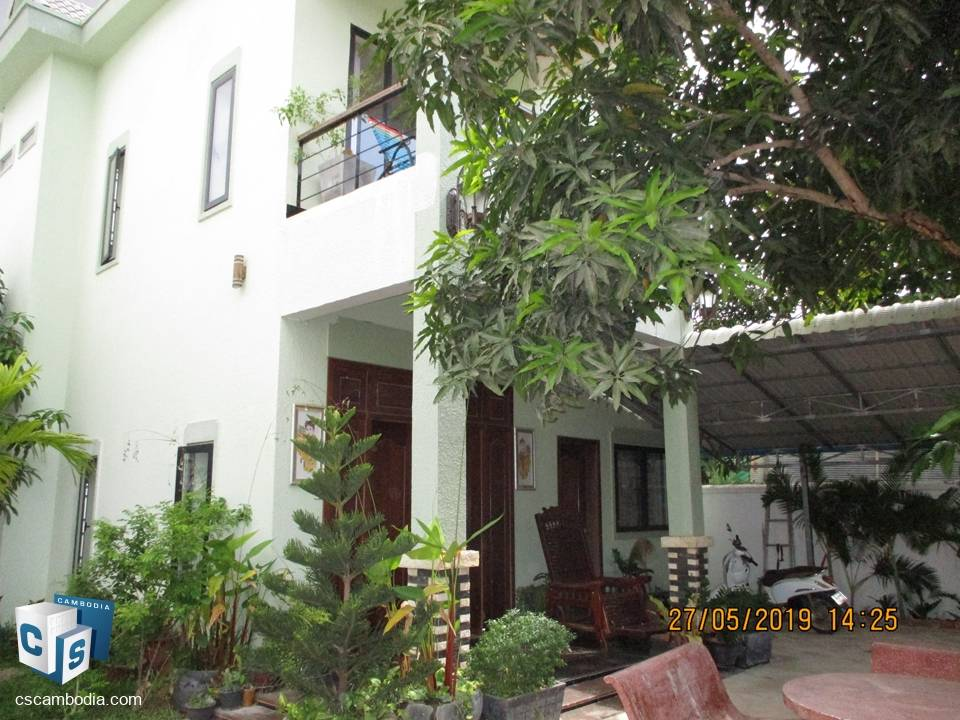 14 Bedroom Guesthouse – For Rent – Svay Dangkum – Siem Reap