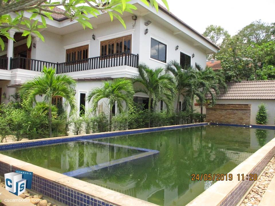 Beautiful Tropical Boutique Hotel – For Rent – Siem Reap