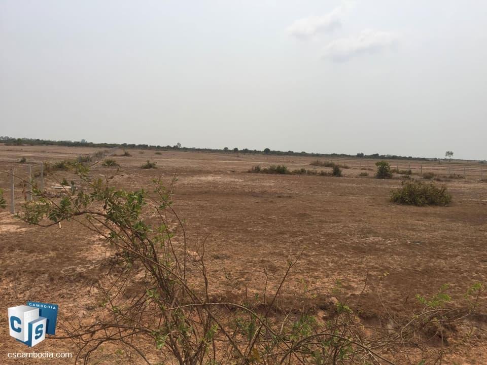 18000 Sq m Land – For Sale – Kantrak Village – Sambor Commune – Siem Reap