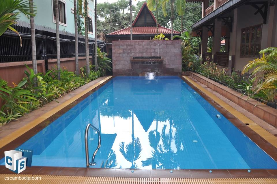 2 Bedroom Apartment with pool – For Rent – Kok Chork Commune – Siem reap