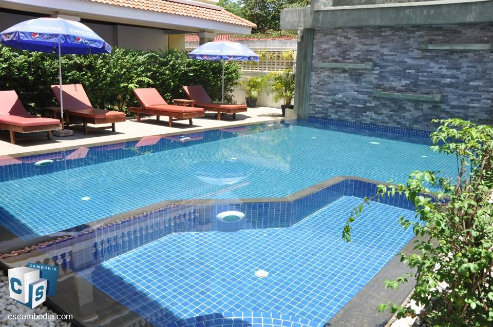 2 Bedroom Apartment With Gym & Pool – For Rent – Sala Kanseng  District – Siem Reap