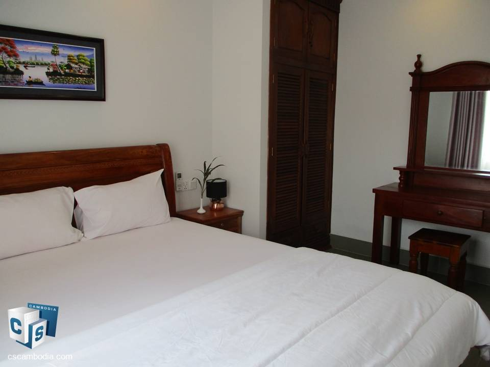 2 Bedroom Apartment – For Rent – Wat Damnak Village –  Siem Reap