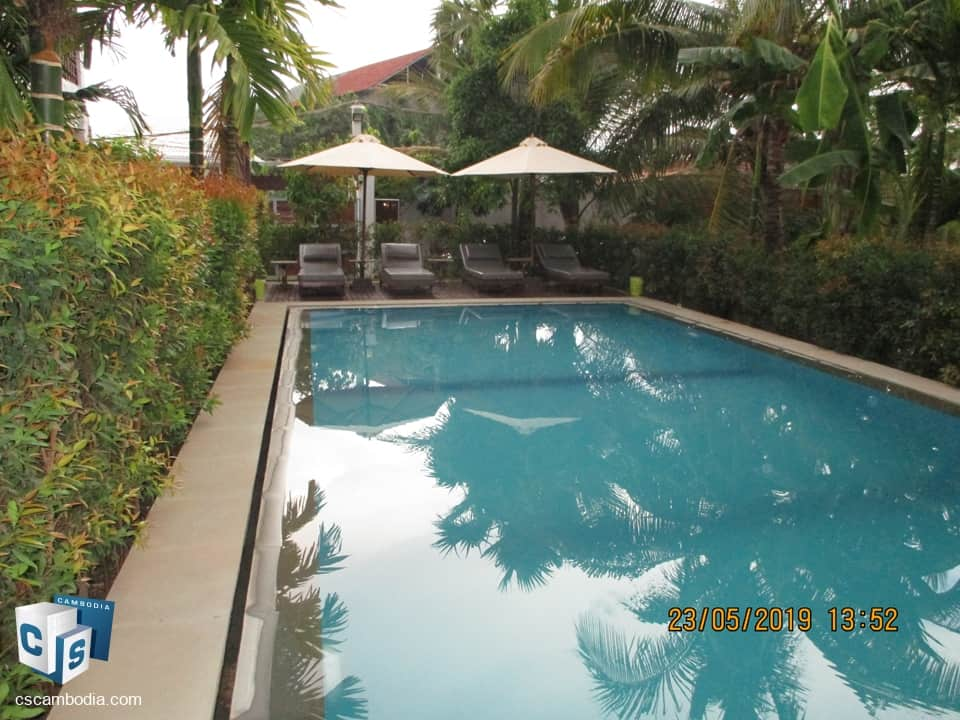 Modern 2 Bedroom Apartment With  Pool – For Rent – Sala  Kamroeuk District – Siem Reap