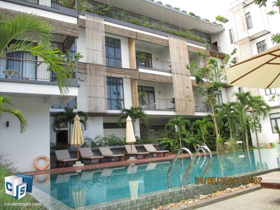 2 Bedroom Apartment With Gym & Pool – For Rent – Sala Kamreuk  Commune  – Siem Reap