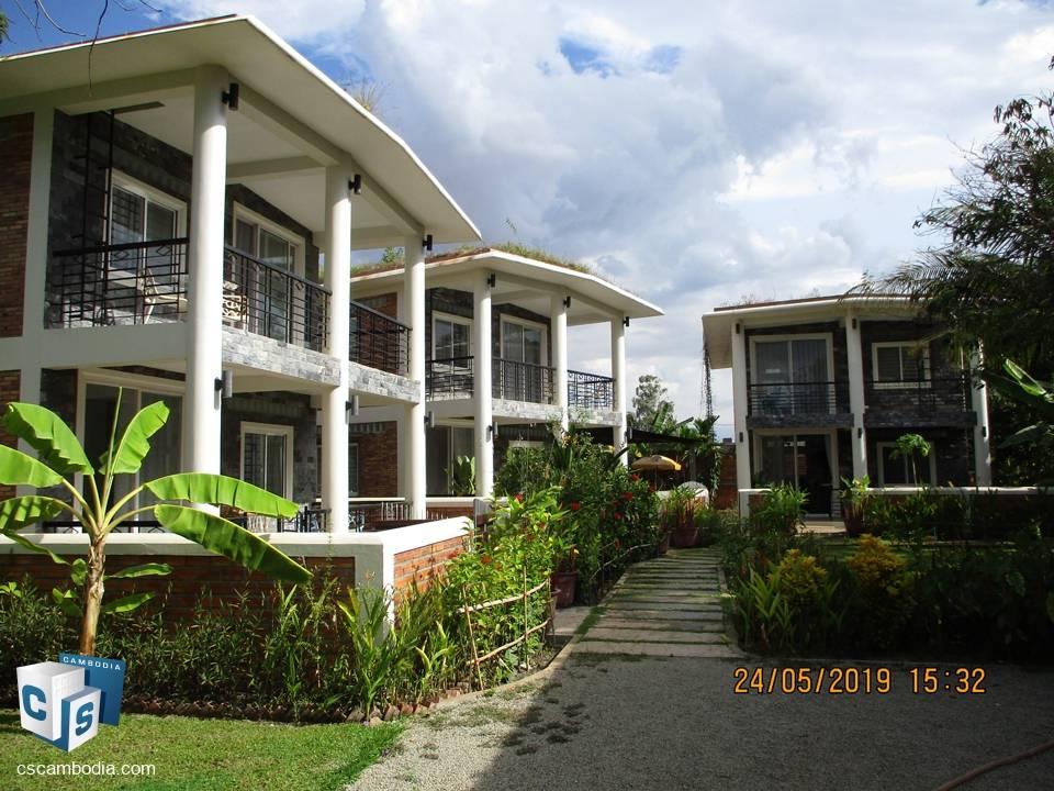 2 Bedroom House – For Rent – Sala Kamreuk Commune – Siem Reap
