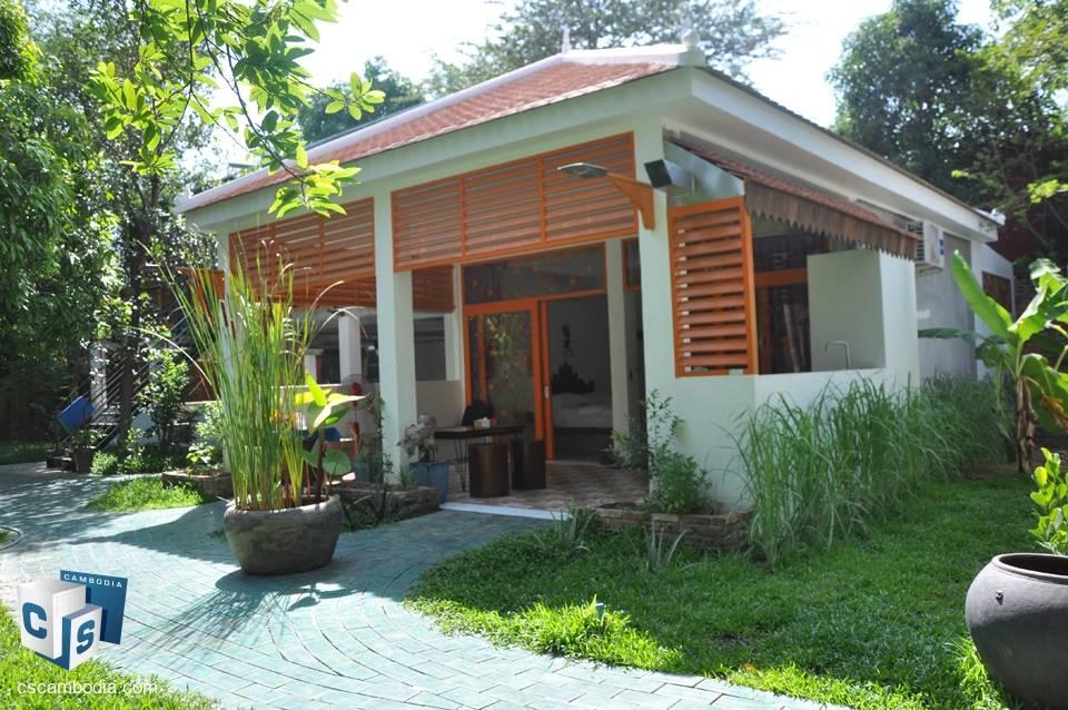2 Bedroom House – For rent – Svay Dangkum village – Svay Dangkum Commune – Siem Reap