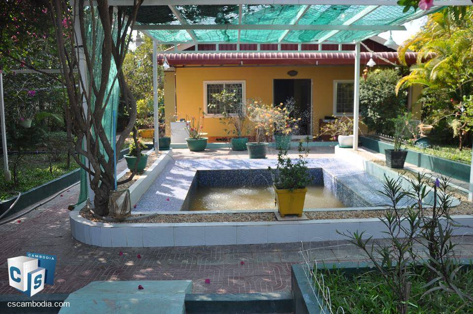 Charming 2 bedroom house with beautiful garden – For Sale – Pheap Srey Village – Siem Reap