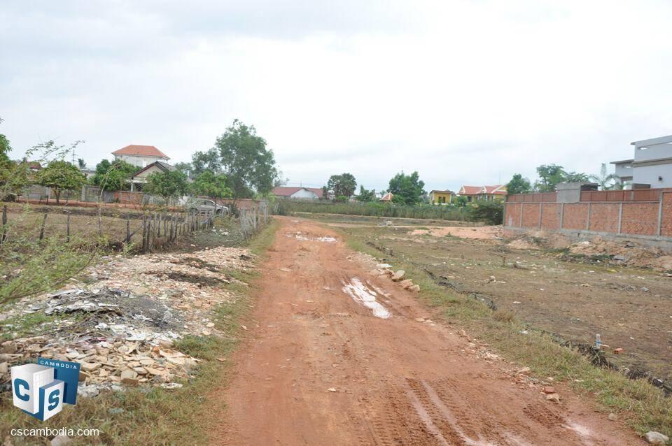 2166 sq m Land – For Sale – Phnea Chey Village – Svay Dangkum Commune – Siem Reap
