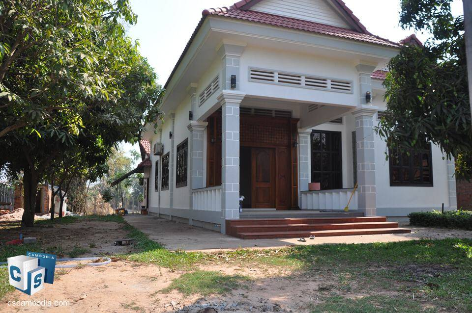 3 Bedroom House – For Rent – Svay Dangkum Commune – Siem Reap