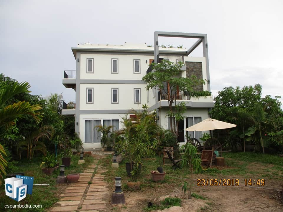 3 Bedroom House – For Rent – Siem Reap.