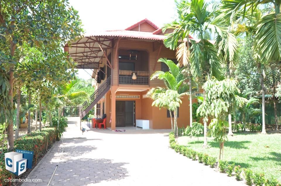 3 Bedroom House – For Rent – Trapeang Traeng Village – Siem Reap