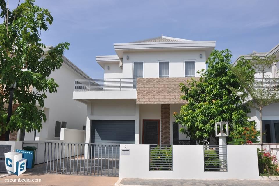 Luxury 3 bedroom House – For Rent – Kaksekam Village – Sra Ngae Commune – Siem Reap