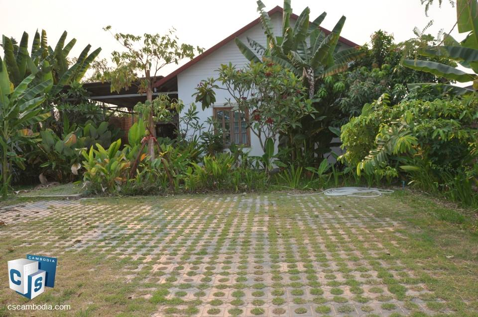 3 Bedroom House – For Rent – Phnea Chey – Svay Dangkum District – Siem Reap