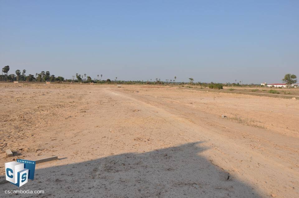 300,000 Sq.m Land – For Sale – Toros Village – Krobey  Real District – Siem Reap