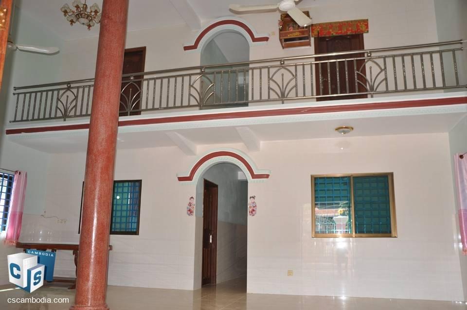 4 Bedroom House – For Rent — Sla Kram Commune – Siem Reap