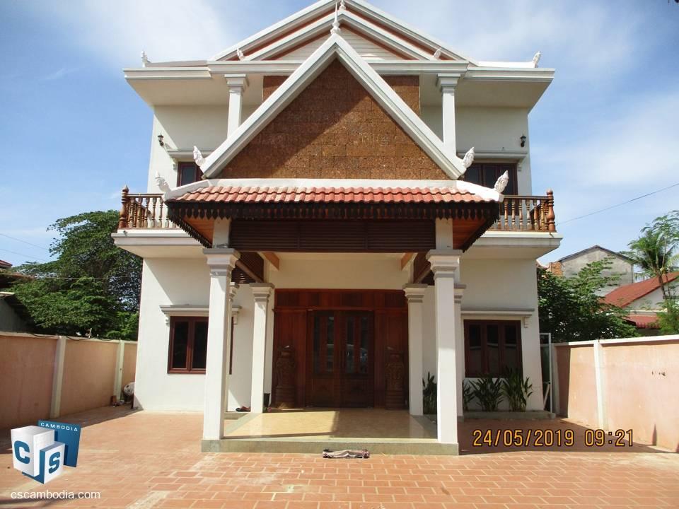 4 Bedroom House – For Rent – Kok Chork – Siem Reap