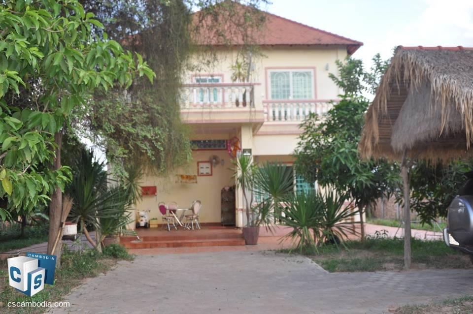 4 Bedroom House – For Sale – Svay  Dangkum – Siem Reap