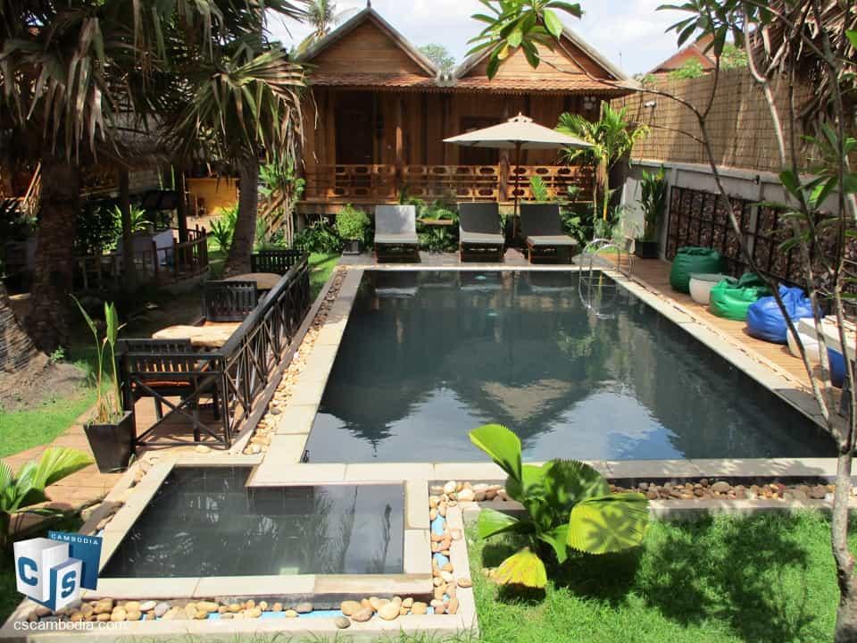 Nature Retreat – For Rent – Vel Viallage – Chrev Commune – Siem Reap