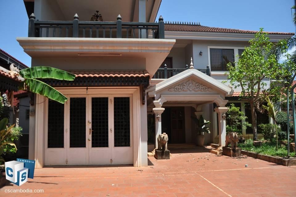 5 bedroom house – Sla Kram village – Sla Kram Commune – Siem Reap