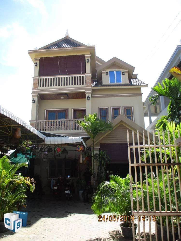 5 Bedroom House – For Rent – Svay Dangkum Commune – Siem Reap