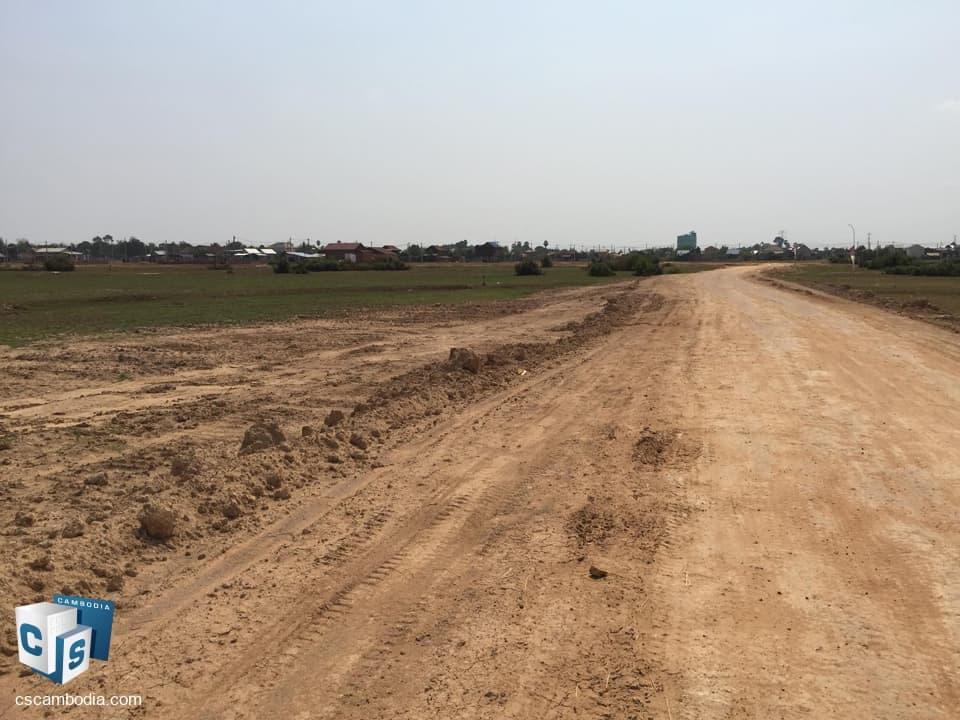 20,700 Sq.M Land – For Sale –  Sambor Village – Krobey Real District – Siem Reap