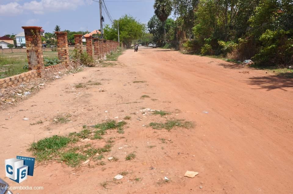 7000 Sq meters of Land – For Sale – krous Village – Svay Dangkum Commune – Siem Rap
