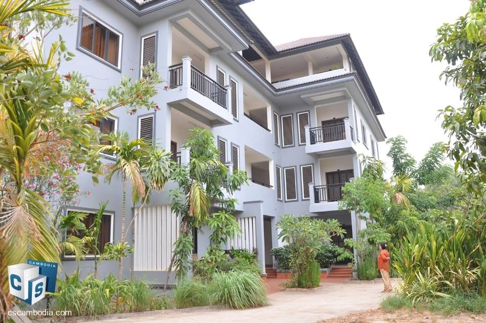 26 Bedroom Apartment Building – For Rent – Wat Bo Village – Sala KamRak – Siem Reap