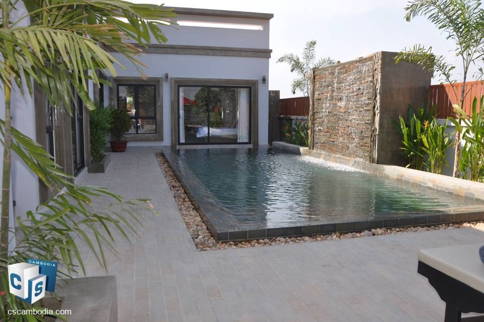 Beautiful 2 Bedroom House With Pool -For Rent – Siem Reap City