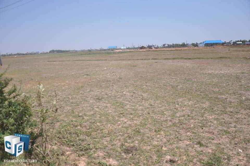 15,277sq.m. Land For Sale – Kro Sang – Lerng Village – Siem Reap