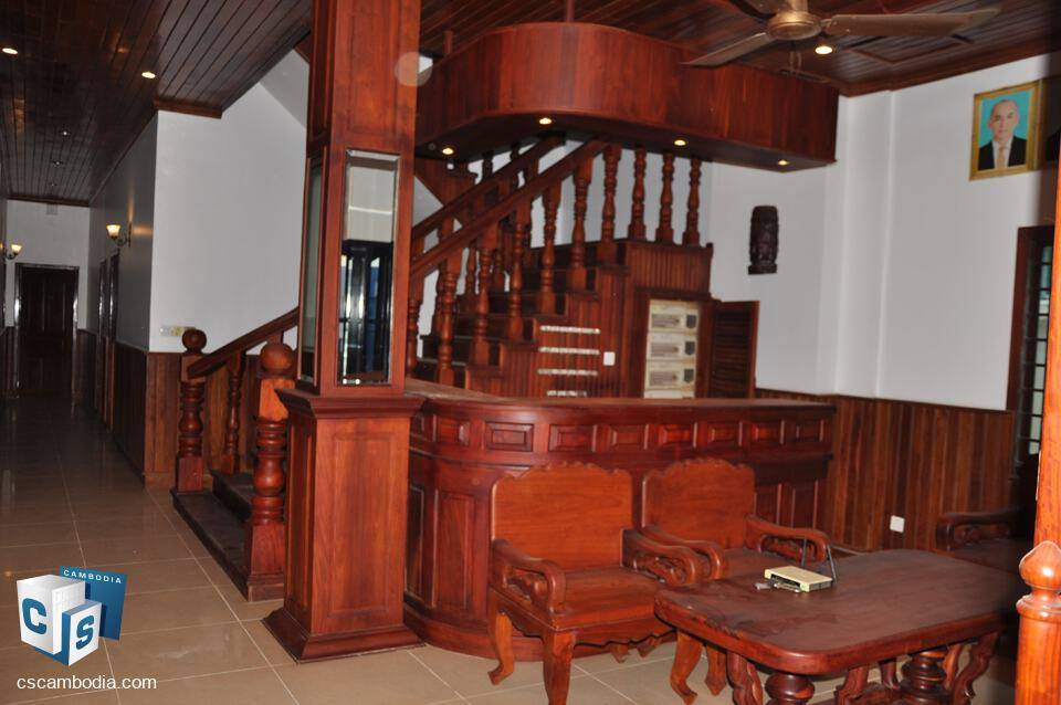 25 room Guest House – Taphul Village – for Rent – Siem Reap