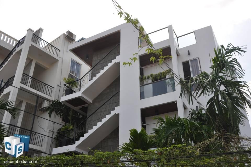 5 Unit Apartment Building – for Sale – Mondul III – Sla Kram Commune – Siem Reap