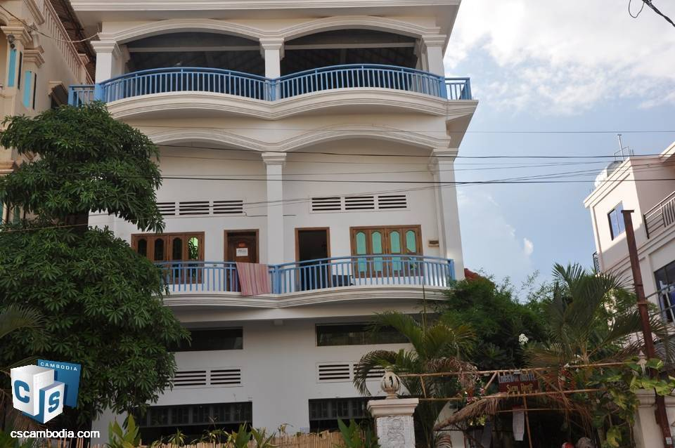 Guest House 500m from Old Market – For Rent – Siem Reap