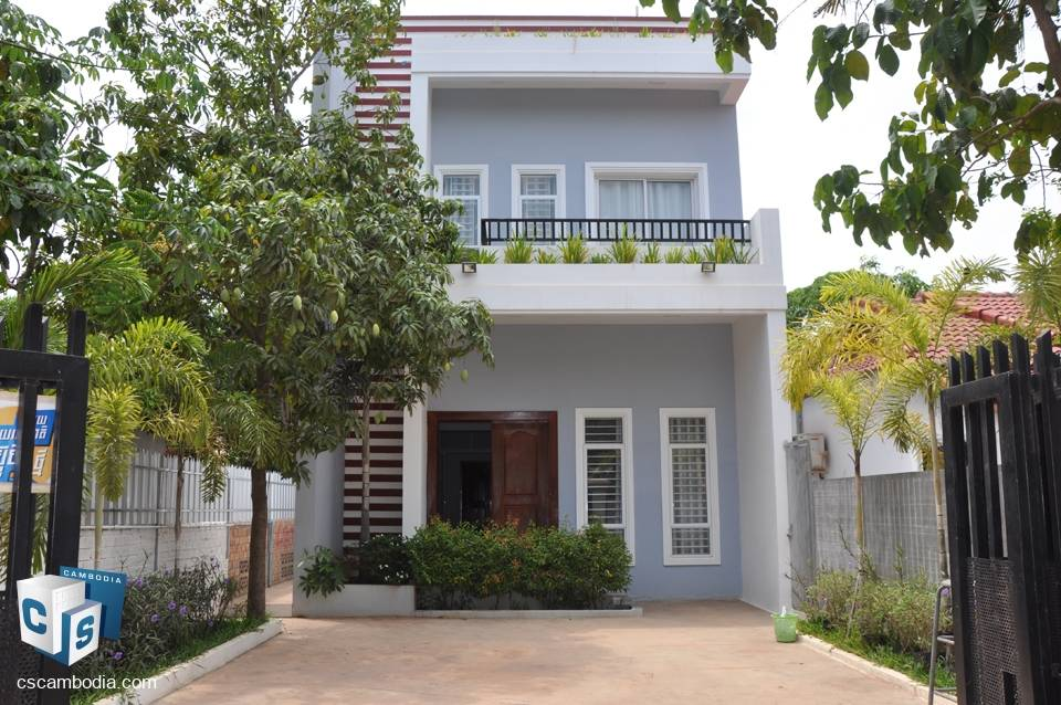 Beautiful 3 Bedroom House – For Rent – Sra Ngae – Siem Reap