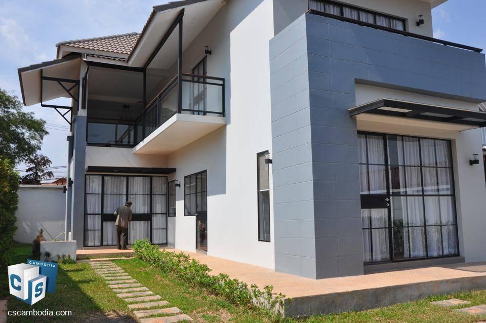 Luxurious 3 bedroom house – for rent – wat damnak – siem reap