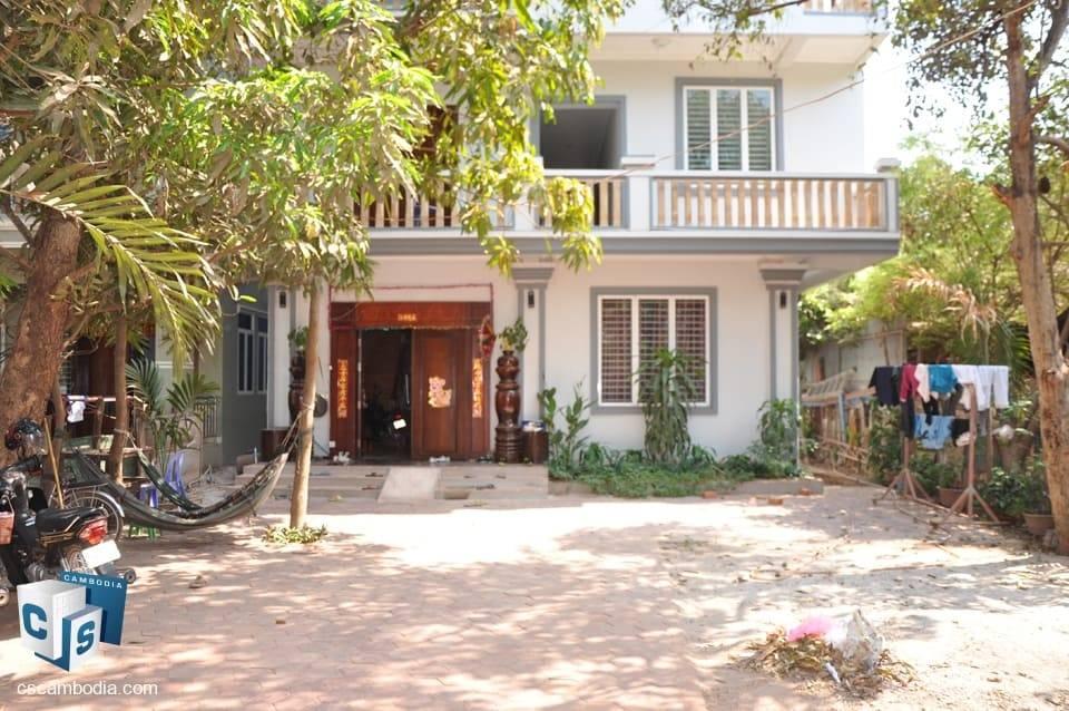 Excellent value, huge 12 Bedroom House – For Rent – Mondul III Village – Sla Kram District – Siem Reap