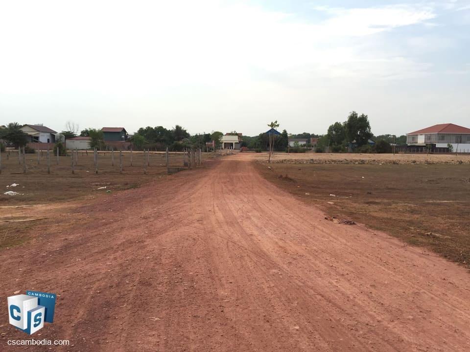 2154 sq.m. Land For Sale – Kantrak Village – Svay Dangkum –  Siem Reap