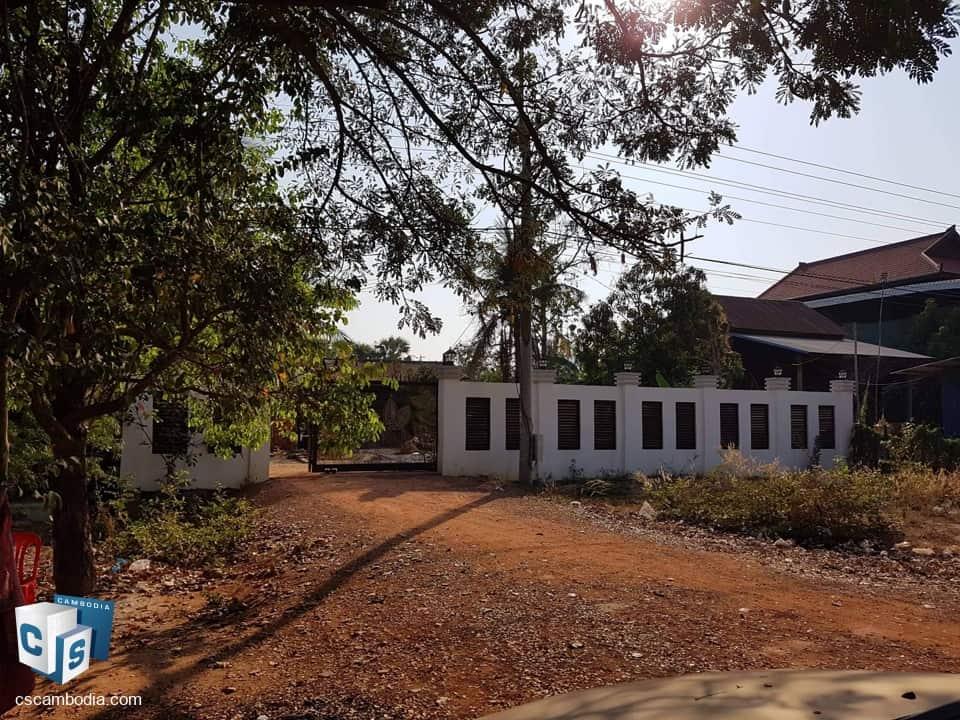 1600 Sq m Land – For Sale – Dom Dek Village – Soutr Nikom District – Siem Reap