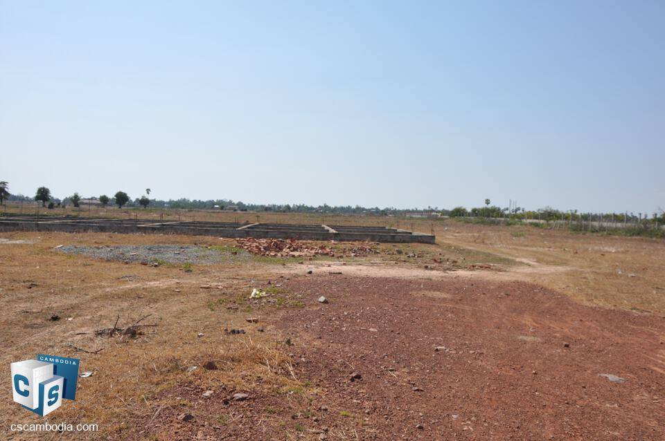 Land For Sale – Sra Ngae Commune –  Siem Reap