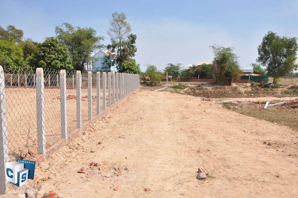 1626 Sq m Land For Sale – Kantrak Village – Svay Dngkum –  Siem Reap