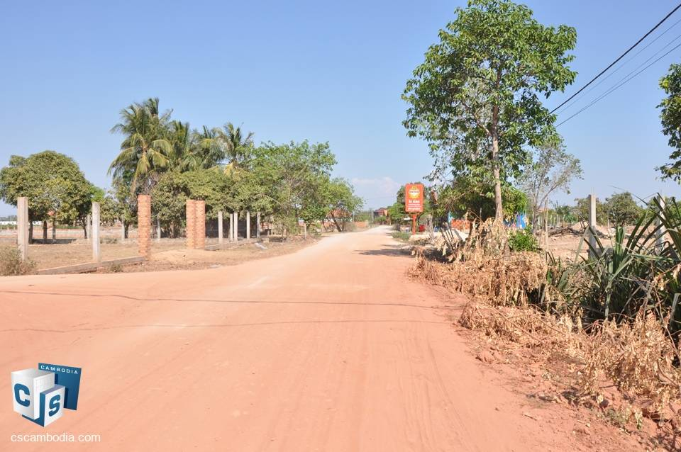 20,213 Sq m Land – For Sale – Roka Village -Mean Chey – Siem Reap