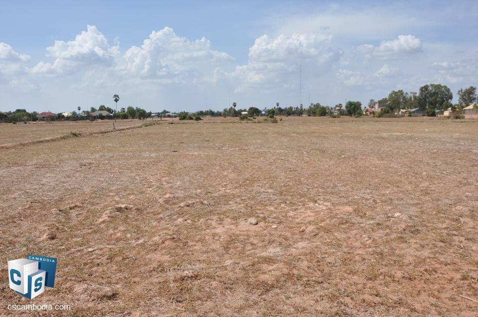 2700 Sq m For Sale – Boskrolanh Village – Chreav Commune – Siem Reap
