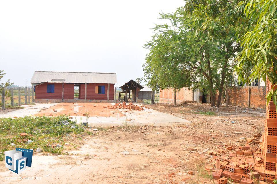 3554 Sq.M. Land For Sale – Krous Village – Svay Dankum – Siem Reap