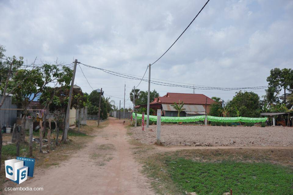 4107 Sq. M Land – For Sale – khnar village – Chreav Commune – Siem Reap